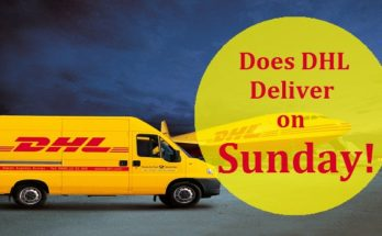DHL Sunday Delivery