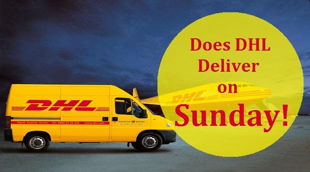 Does Dhl Deliver On Sundays
