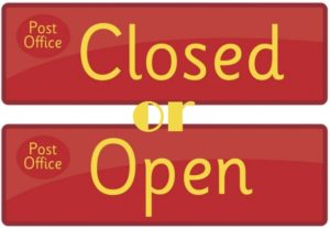 post office open or close