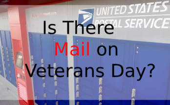 Is There Mail on Veterans Day