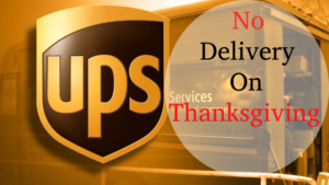 Does UPS Deliver on Thanksgiving