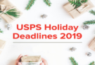 holiday shipping deadlines 2019